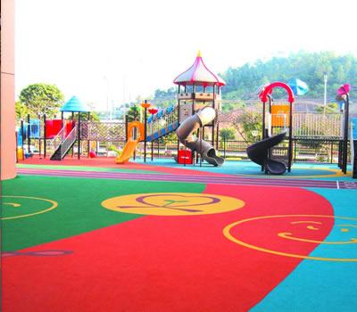 幼儿园运动弹性地板